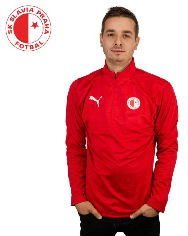 Pánská mikina Slavia Puma Liga TRG 1/4 Zip, K Sporting