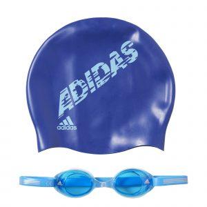 ab6071 1 300x300 - Dětské plavecké brýle a čepice Adidas