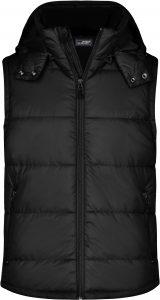 Pánská vesta James & Nicholson Black, K Sporting