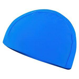 Plavecká čepice LYCRAS modrá, K Sporting