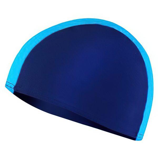 Plavecká čepice LYCRAS tm.modro-sv.modrá, K Sporting
