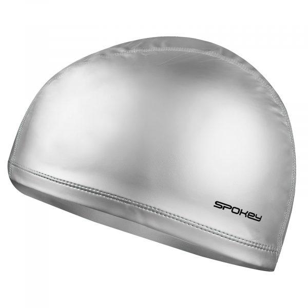 Plavecká čepice TORPEDO dvouvrstvá stříbrná, K Sporting