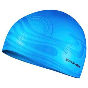 Silikonová plavecká čepice SHOAL modrá, K Sporting