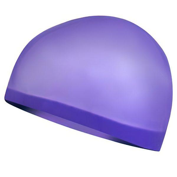Profesionální plavecká čepice SEAGULL fialová, K Sporting