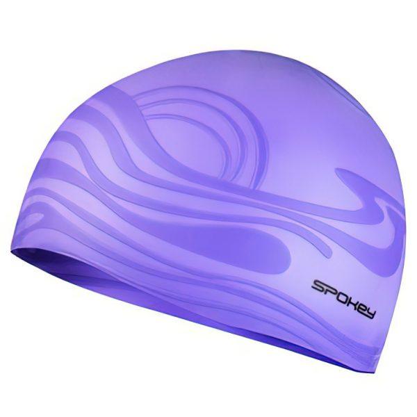 Silikonová plavecká čepice SHOAL fialová, K Sporting