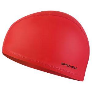Plavecká čepice TORPEDO dvouvrstvá červená, K Sporting