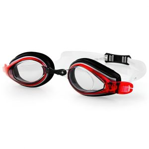 Plavecké brýle KOBRA černo-červené, K Sporting