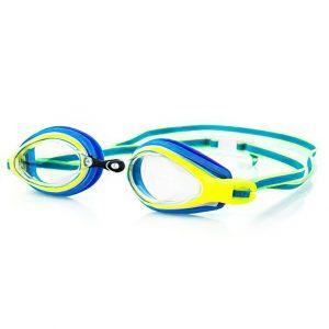 Plavecké brýle KOBRA modro-žluté, K Sporting