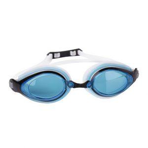 Plavecké brýle KOBRA bílé-modrá skla, K Sporting