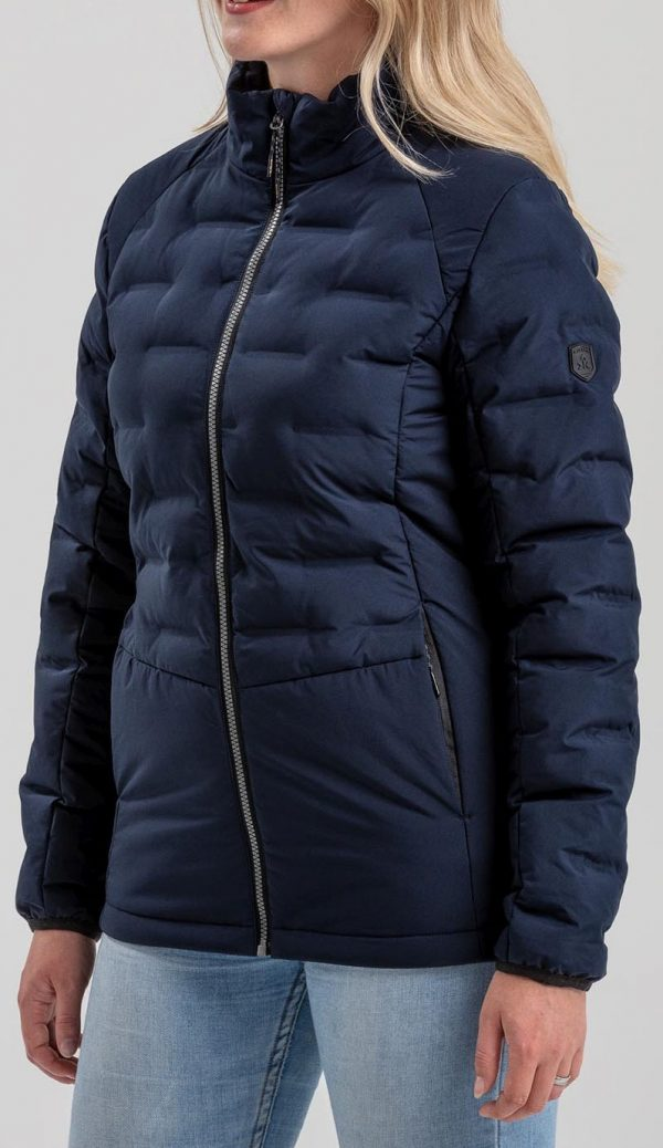 Dámská zimní bunda Kjelvik Sitaa Navy, K Sporting