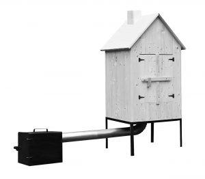 Topeniště k udírně velké – 66×57 cm, K Sporting