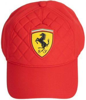 Kšiltovka Ferrari SW Quilt Cap red, K Sporting