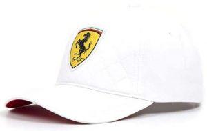 Kšiltovka Ferrari SW Quilt Cap white, K Sporting