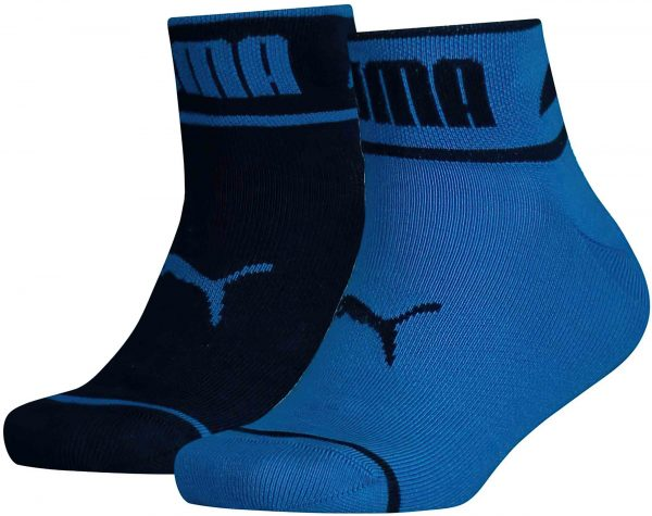 Dětské ponožky Puma Seasonal Logo Quarter 2-Pack Blue, K Sporting