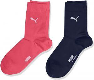 Dětské ponožky Puma Easy Rider JR 2-Pack Pink Blue, K Sporting