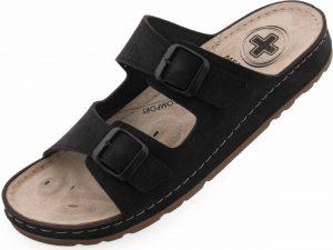 Pánské pantofle Medi Line S183.002 black, K Sporting