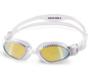 Plavecké brýle Head Goggle Superflex Mid Mirrored, K Sporting