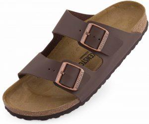 Pantofle Birkenstock Arizona dark brown, K Sporting
