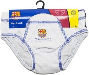 Dětské slipy 3-pack FC Barcelona, K Sporting