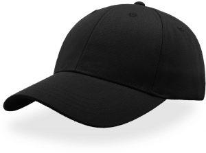 Kšiltovka Atlantis ZOOM snap cap black, K Sporting