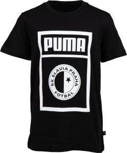 Dětské triko Puma SLAVIA PRAGUE GRAPHIC TEE JR, K Sporting