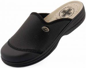 Dámské pantofle Medi Line 553 black, K Sporting