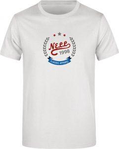 Pánské triko Nell Alvar white, K Sporting