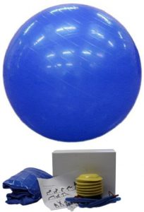 Gymnastický míč 65cm s pumpičkou, K Sporting