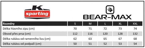 Pánská mikina Bear-Max Bergman, K Sporting