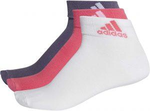 Kotníkové ponožky Adidas Per Ankle T 3pp, K Sporting