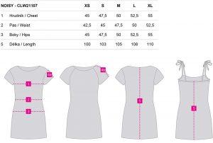 Dámské sportovní šaty Loap NOISY, K Sporting