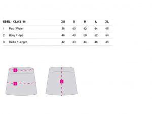 Dámská sportovní sukně Loap EDEL, K Sporting