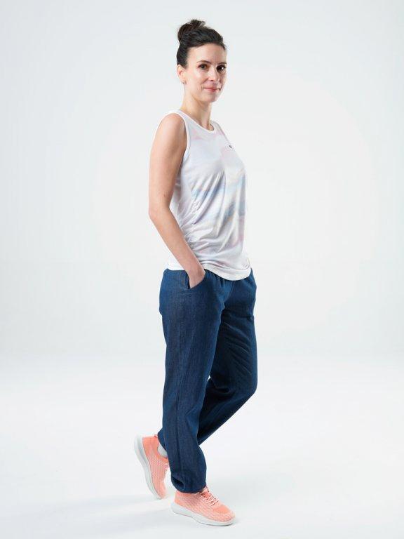 Dámské kalhoty do města Loap NETTY, K Sporting