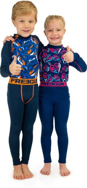 Dívčí  termoprádlo Freegun Slide, K Sporting