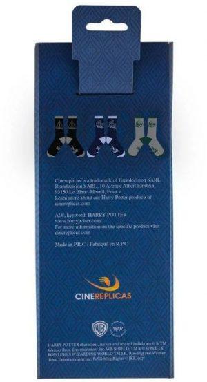 Ponožky Harry Potter Deathly Hallows 3-pack, K Sporting