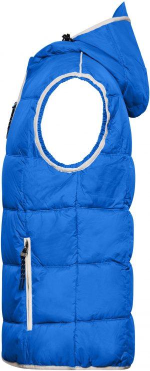 Pánská vesta James & Nicholson Maritime Nautic Blue, K Sporting