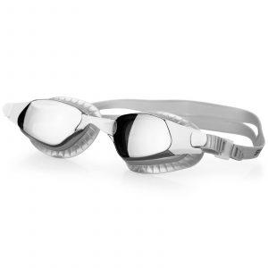 Plavecké brýle ERISK stříbrné, K Sporting