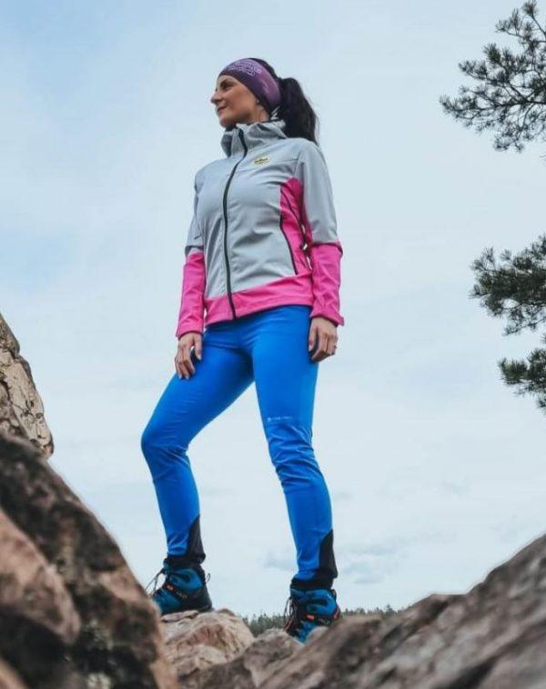 Dámské softshellové kalhoty Alpine Pro SPIDA, K Sporting
