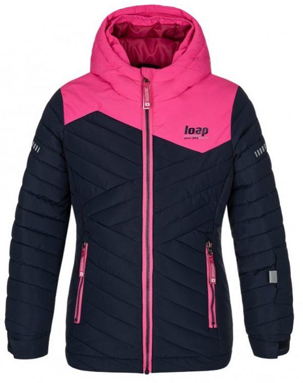 Dětská lyžařská bunda Loap Fureta, K Sporting