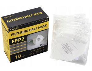 Respirátor FFP2 – balení 10 ks, K Sporting
