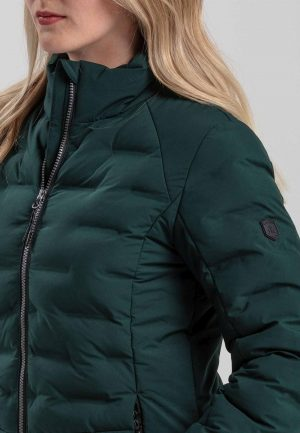Dámská zimní bunda Kjelvik Sitaa Green, K Sporting