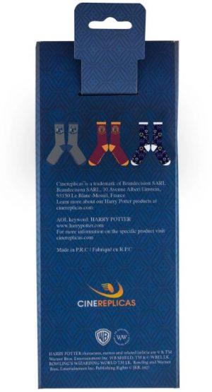 Ponožky Harry Potter Golden Snitch 3-pack, K Sporting