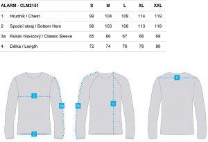 clm2151 v24v 3 300x205 - Pánské triko Loap ALARM
