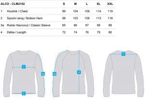 clm2152 l08l 3 300x205 - Pánské triko Loap ALCO
