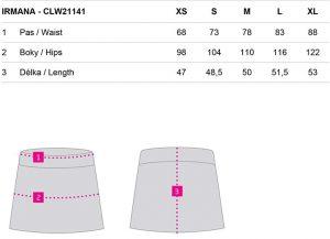 clw21141 v24h 8 300x217 - Dámská sukně Loap Irmana