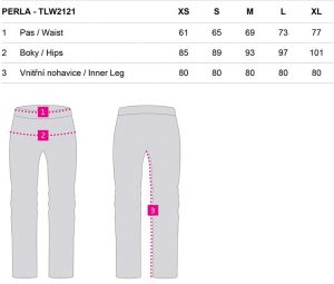 tlw2121 t73xv 3 300x255 - Dámské termo kalhoty Loap PERLA