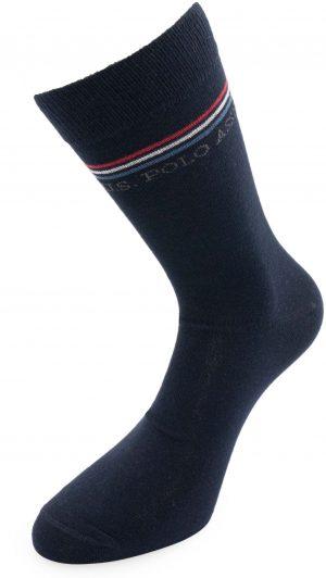 115 42970 mod 2 300x532 - Ponožky U.S. Polo Assn. 3-pack marine