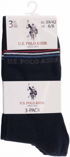 115 42970 mod 3 300x668 - Ponožky U.S. Polo Assn. 3-pack marine