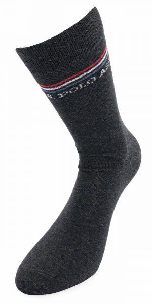 115 42970 sda 2 300x600 - Ponožky U.S. Polo Assn. 3-pack anthracit