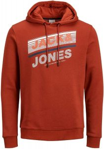 12191028 red 1 211x300 - Pánská mikina Jack & Jones